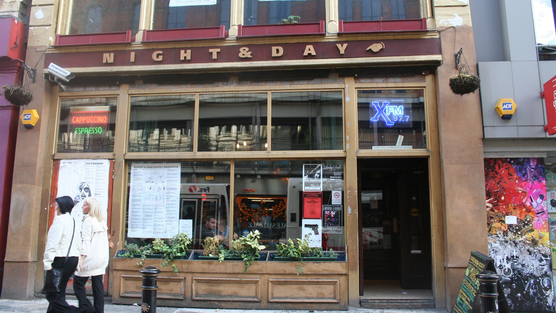 Breaking news: Manchester's Night And Day Cafe has been allowed to keep its live music license following noise dispute.