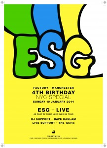 ESG: FAC251, Manchester 19th January 2014 – live review