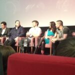 Dominic Burns and Allies' cast at Derby Film Festival
