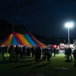 Ramsbottom Festival by night