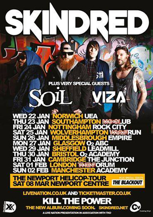Skindred: Wulfrun Hall, Wolverhampton – live review