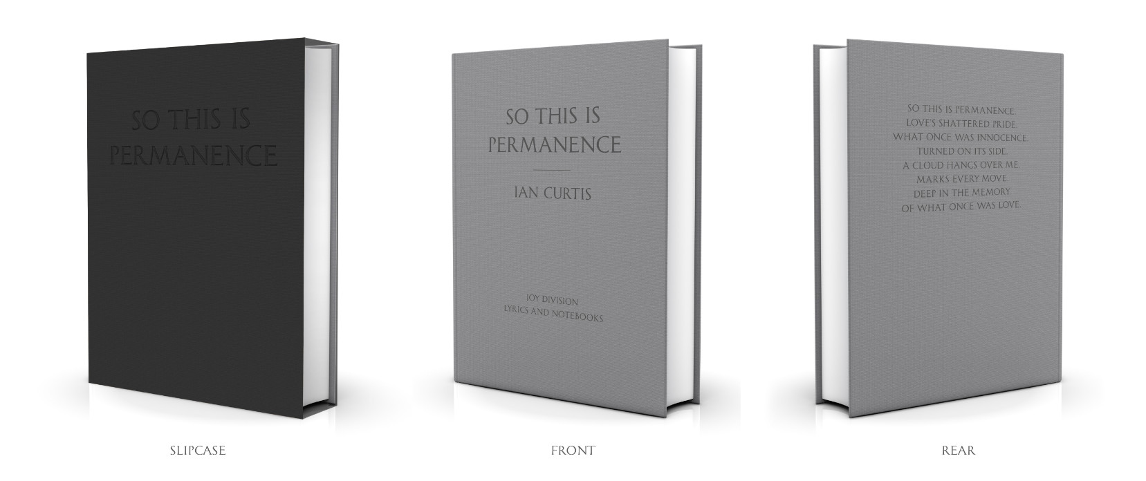 So This is Permanence – the lyrics and notebooks of Ian Curtis; available for pre-order