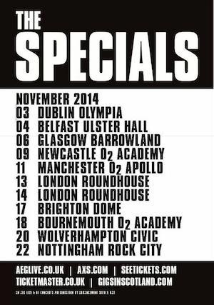 Steve Cradock joins The Specials for November UK tour
