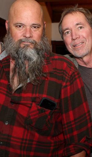 Stephen Linsley and Wayne Woods. Copyright Stephen Linsley