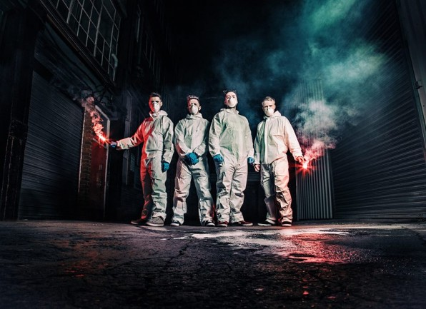 "Louder Than War Premiere: Stop Drop Robot – Clear Water. New track by the Sheffield ""hard rock meets electronica"" quartet."