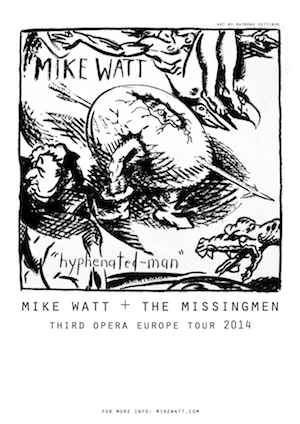 Watch This! New Video by Cuz (Mike Watt and Sam Dook), plus Mike Watt and the Missingmen tour news | Louder Than War