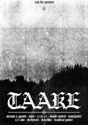 Taake: Sound Control, Manchester – live review