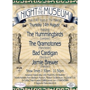 Blackburn Museum set for historic first gig feat. Gramotones