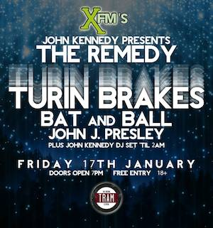 John J Presley | Bat and Ball | Turin Brakes: Tooting Tram, London – live review