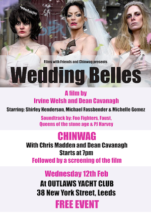 Louder Than War Interview: Dean Cavanagh, Co-author (with Irvine Welsh) of Cult Film Wedding Belles
