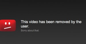 U2 force YouTube to remove video for Paranoid Visions forthcoming 'Two Black Eyes' single..