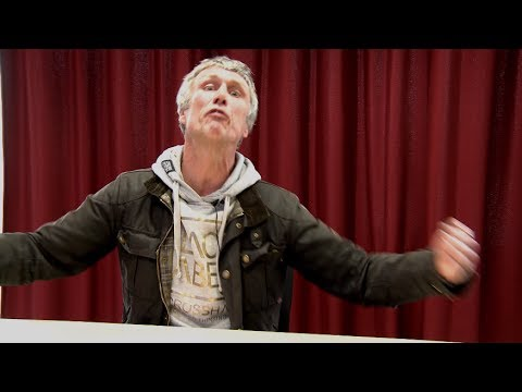 Video thumbnail for youtube video watch this! in depth interview with Bez about his manifesto and the Reality party - Louder Than War