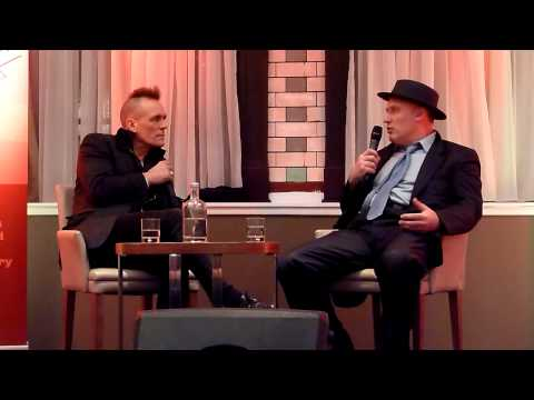 Jah Wobble in conversation at Louder Than Words music and books festival