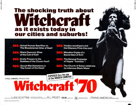 Witchcraft '70 – Enjoyable Mondo Documentary On Satanism And The Occult